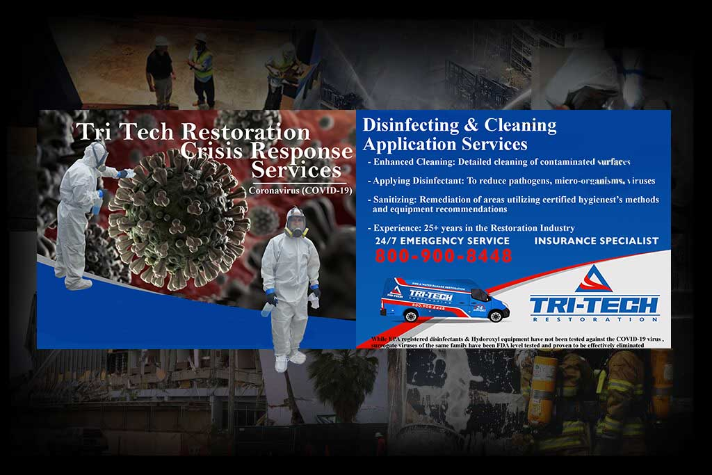 Nations leading provider Emergency &  full service Restoration services